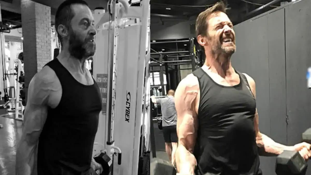 Hugh Jackman Workout for Getting in Shape as Wolverine